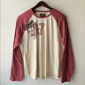 Lucky Brand Motorcycle Long Sleeve